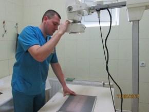 Проведение рентгена
