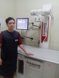 Стационарный комплекс прямой цифровой рентгенологии «EXAMION Maxivet 300HF FPS»